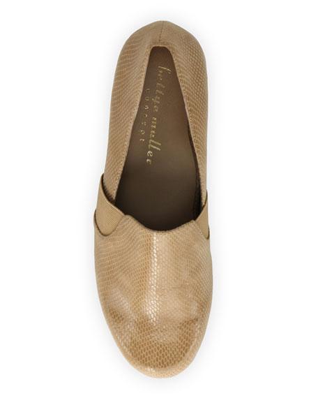 Bettye Muller Concept Tropic Lizard-Print Walking Shoes