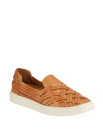 Ivy Leather Chevron Sneakers