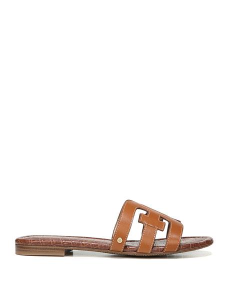 Sam Edelman Bay Leather Cutout Slide Sandals