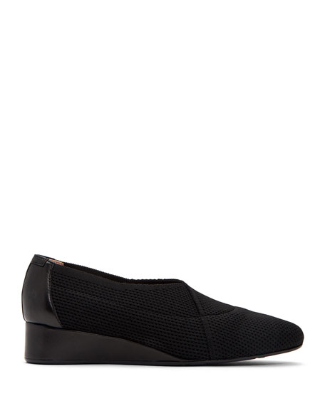 Taryn Rose Collection Celeste Demi-Wedge Knit Pumps