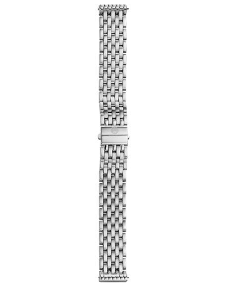 MICHELE Deco 18-Diamond Chronograph Watch Head & 16mm