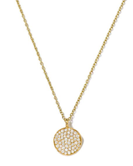 Ippolita Stardust Diamond Pendant Necklace