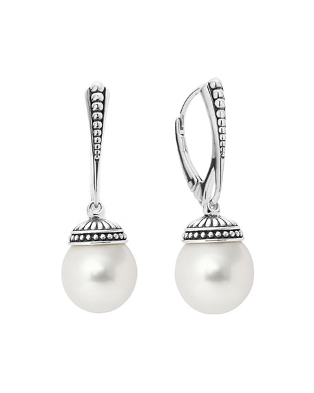 Lagos Freshwater Pearl Drop Earrings