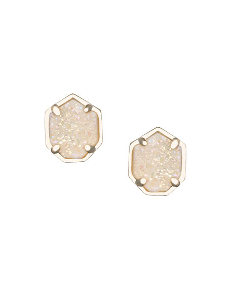Logan Druzy Stud Earrings