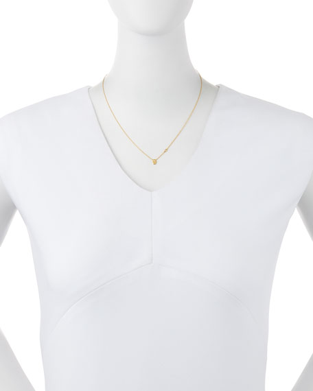 Double Protection Diamond Necklace