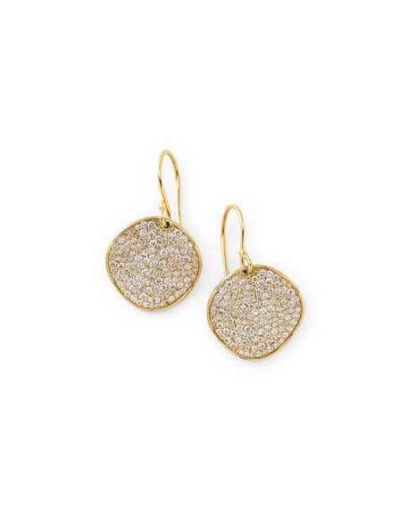 Ippolita 18k Glamazon Stardust Earrings with Diamonds