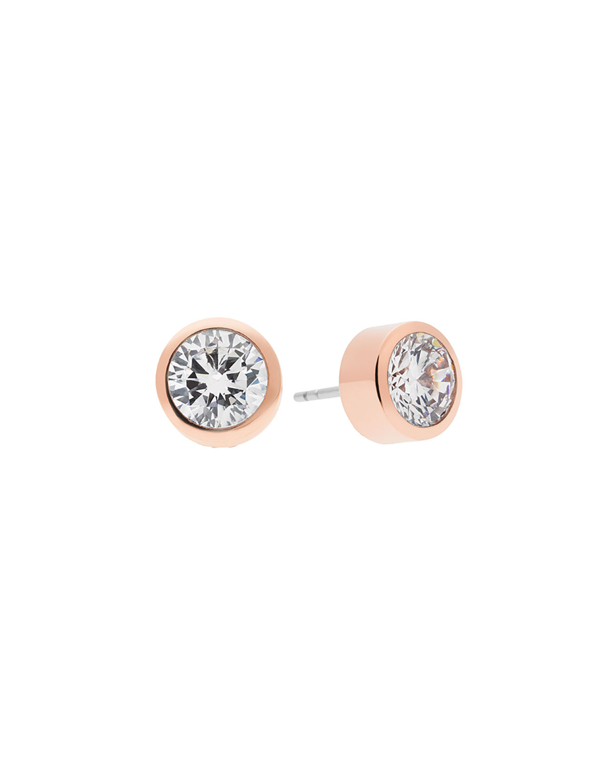 1a51668bc0cb2 Michael Kors Round Crystal Stud Earrings