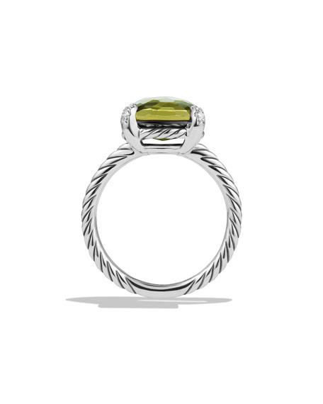11mm Châtelaine Ring w/Diamond Prongs
