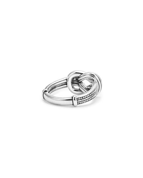 Newport 18K Gold Diamond Knot Ring