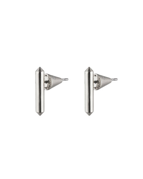Idle Bar Stud Earrings