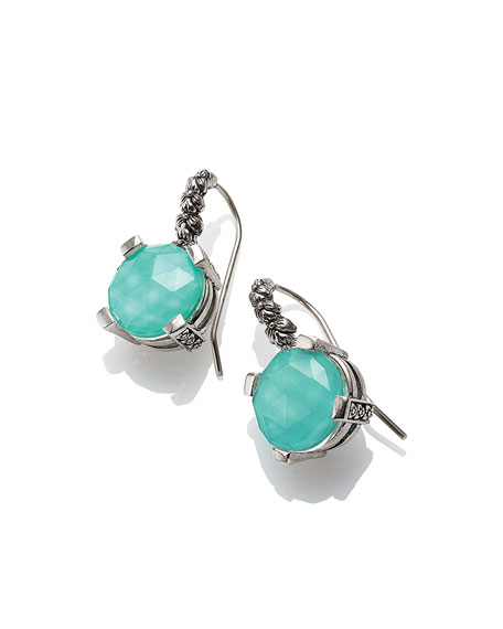 Drop Earrings, Turquoise