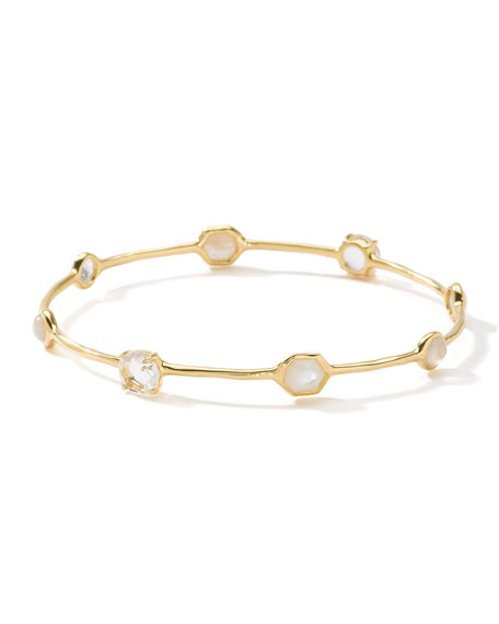 Image 1 of 3: Ippolita 18K Rock Candy 8-Stone Bangle