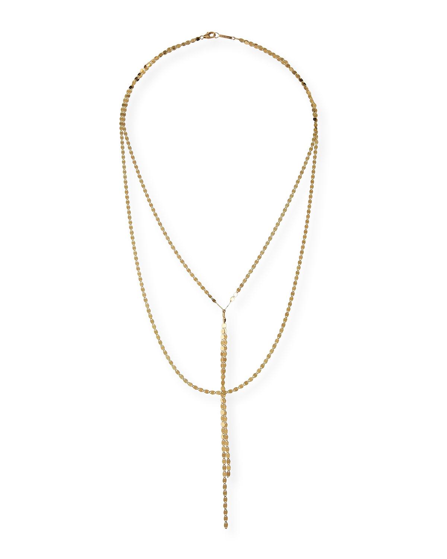 Lana Jewelry 14k Black Gold Tsavorite Crossary Necklace QgRJEQdgQ