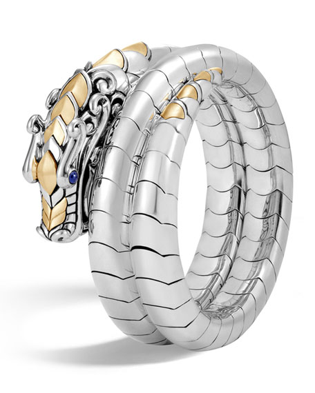 John Hardy Legends Naga 18K Gold & Silver