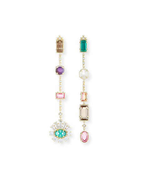 Kendra Scott Muzzie Mixed Drop Earrings