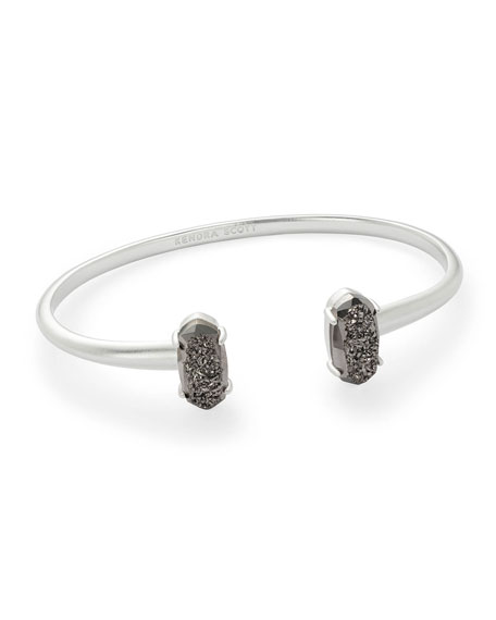 Kendra Scott Edie Druzy Stone Bangle Bracelet
