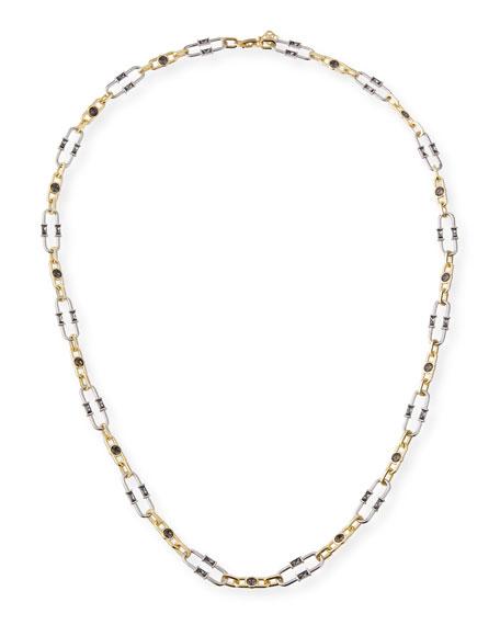 Kendra Scott Gage Crystal Oval Link Necklace, 36