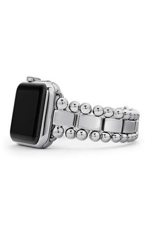 LAGOS Smart Caviar 38mm Watch Bracelet, Medium