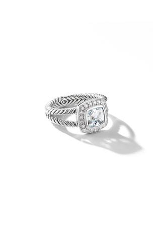 CS-DB Pendants 1.07ct Gemstones Charm T Silver Necklaces