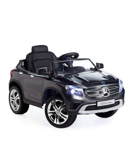 Mercedes GLA 12V Ride-On Car, Gray