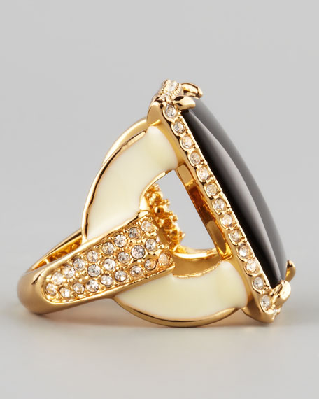 Square Ring, Black