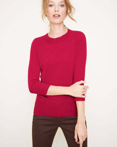 Basic Cashmere Sweater, Women's