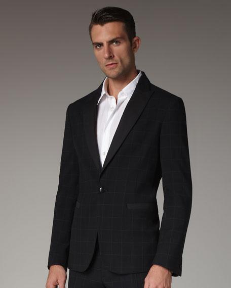 Black PK Lapel Jacket