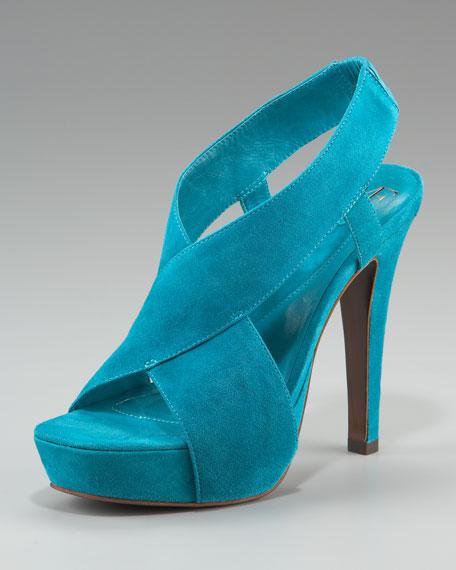 Zia Suede Platform Sandal
