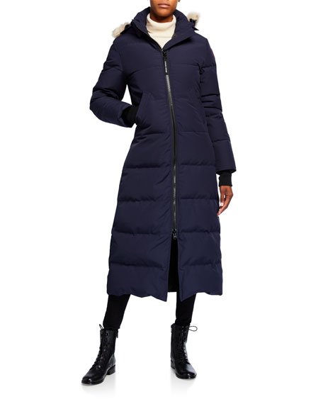 Image 1 of 4: Mystique Fur-Hood Parka