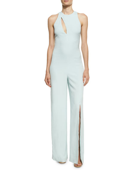 Cushnie Et Ochs Valerie Sleeveless Wide-Leg Jumpsuit with