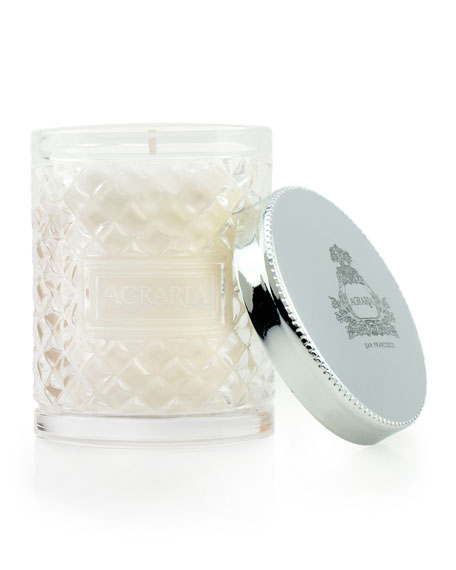 Image 2 of 2: 3.4 oz. Mediterranean Jasmine Crystal Cane Candle