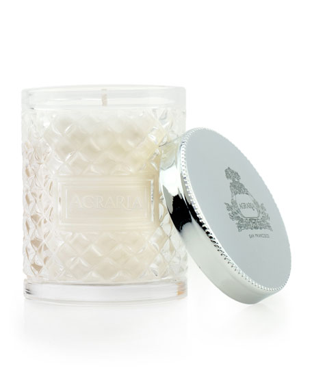 Lime and Orange Blossom Cane Candle, 3.4 oz.