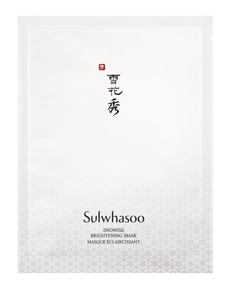 Image 1 of 3: Sulwhasoo Snowise Brightening Mask, 10 Sheets