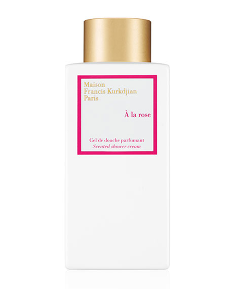 Maison Francis Kurkdjian À la rose Scented Shower Cream, 8.5 oz./ 250 mL