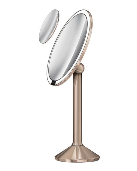 """8"""" simplehuman Sensor Mirror Pro, Rose Gold Finish"""