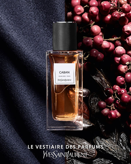 Yves Saint Laurent Beaute Exclusive LE VESTIAIRE DES PARFUMS Caban Eau de Parfum, 4.2 oz./ 124 mL