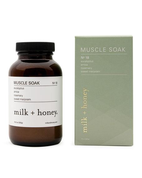 milk + honey Muscle Soak No. 18, 10.0 oz.