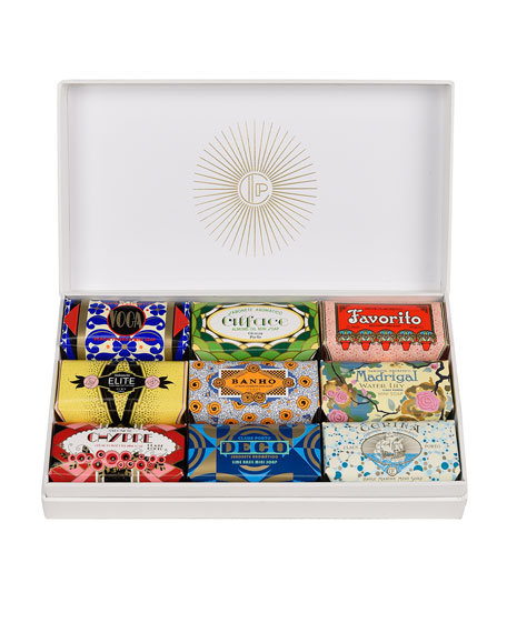 Claus Porto 9 Piece Deco Soap Gift Box with Sleeve