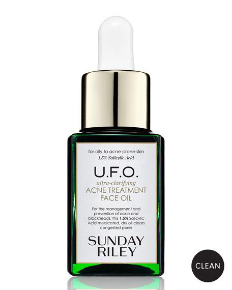 U.F.O. Ultra-Clarifying Acne Treatment Face Oil, 0.5 oz./ 15 mL<br>