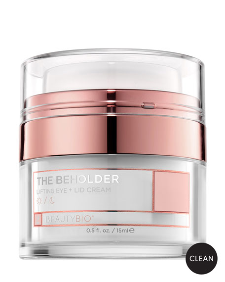 BeautyBio THE BEHOLDER Lifting Eye + Lid Cream, 0.5 oz./ 15 mL