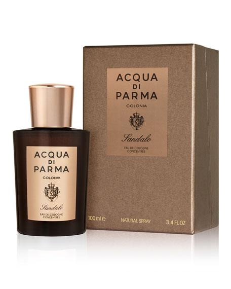 Acqua di Parma Exclusive Colonia Sandalo Eau de Cologne Concentrée, 3.4 oz./ 100 mL