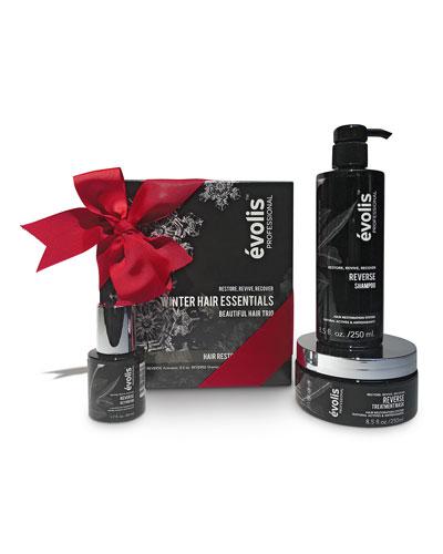 NM Exclusive Winter Hair Essentials By &#233volis, Reverse Hair Restoration Set