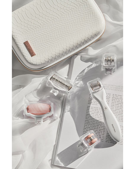 Image 4 of 6: BeautyBio The Complete GLO, GloPRO + Pack N' Glo Microneedling Regeneration Set ($389 Value)