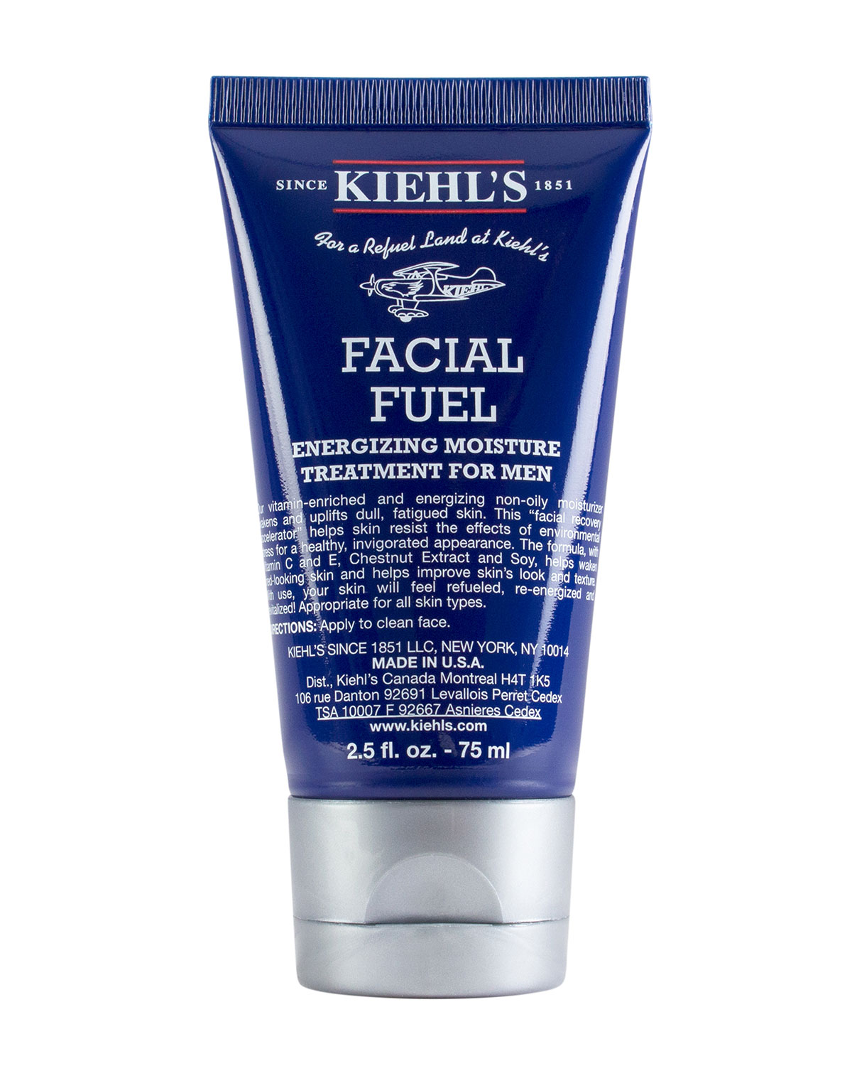 Kiehl's Since 1851 2.5 oz. Facial Fuel Daily Energizing Moisture Treatment For Men