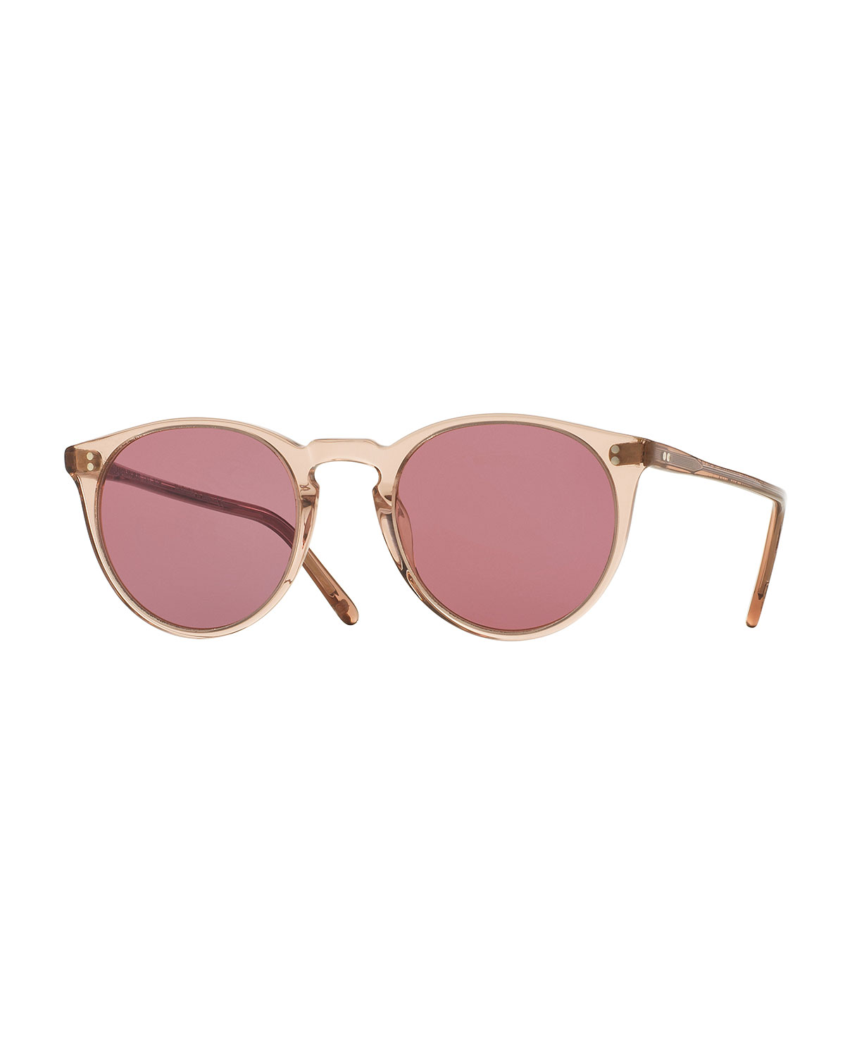 2202e037318 Oliver Peoples The RowO Malley NYC Peaked Round Photochromic Sunglasses