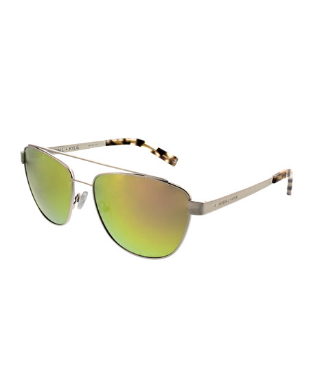 Kendall + Kylie Lexi Teacup Aviator Sunglasses