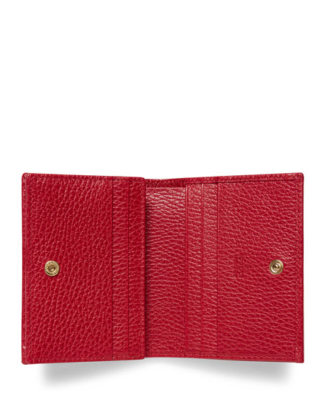Petite Marmont Leather Card Case