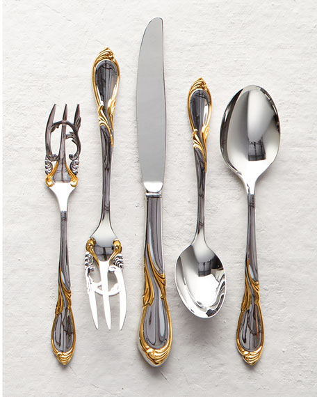 20-Piece Cache Stainless Steel Flatware Service