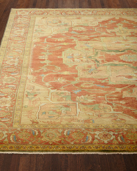 Exquisite Rugs Tribute Medallion Rug, 7'9