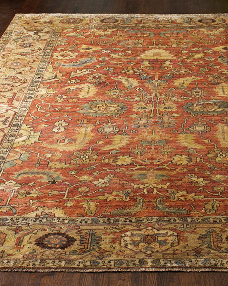 Exquisite Rugs Thompson Oushak Rug, 4' x 6'